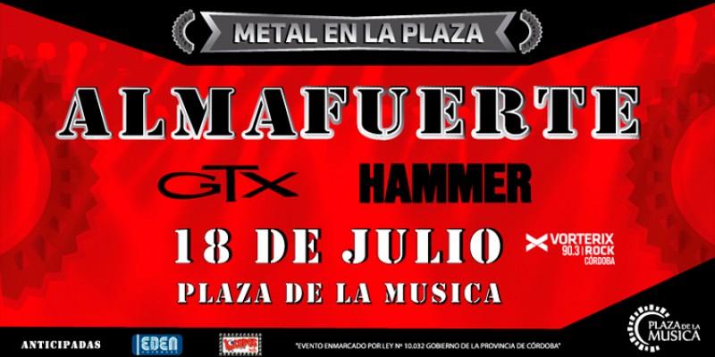 Llega una noche de Metal en la Plaza!