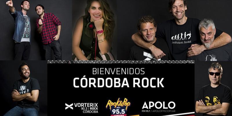 ¡Bienvenidos CÓRDOBA ROCK!