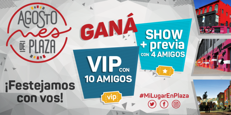 ¡Participá de #MiLugarEnPlaza!