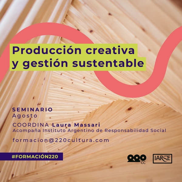 Producción Creativa y Gestión Sustentable