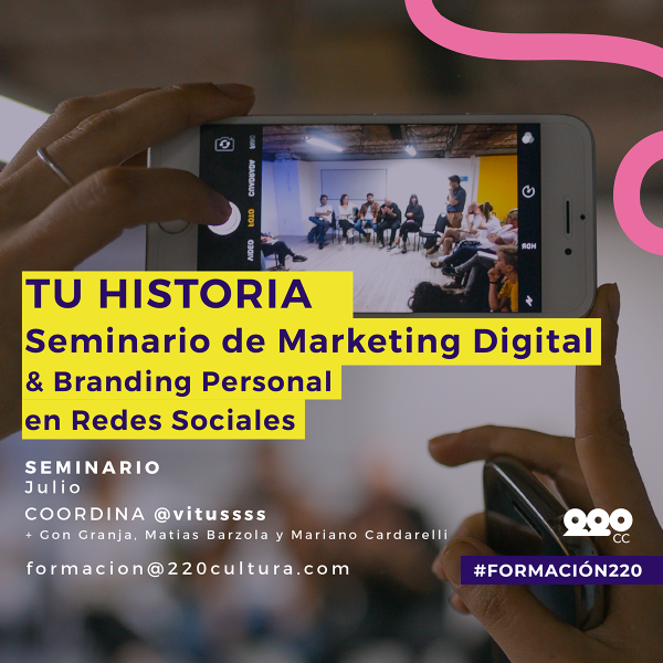 Marketing Digital & Branding Personal en Redes Sociales