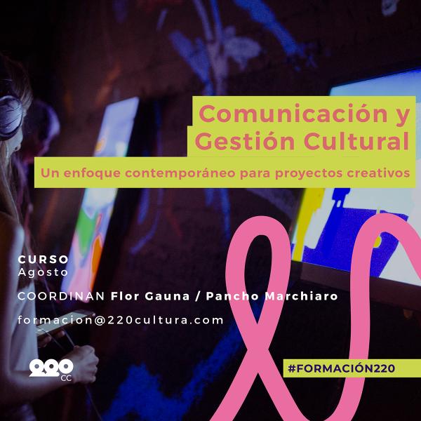 Comunicación y Gestión Cultural