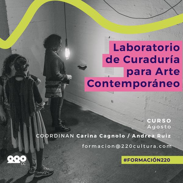 Laboratorio de Curaduría para Arte Contemporáneo