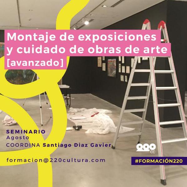 Montaje de Exposiciones y Cuidado de Obra Avanzado
