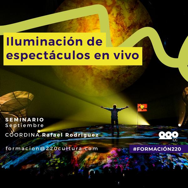Iluminación de Espectáculos en Vivo