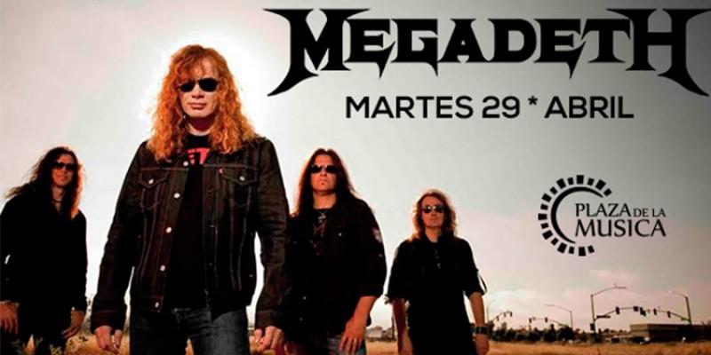 Megadeth en Córdoba